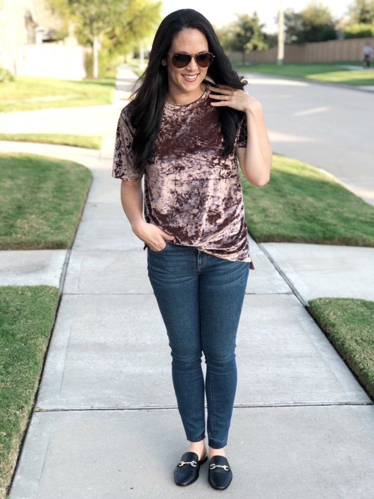Velvet Trend, easy fall style, fall trends