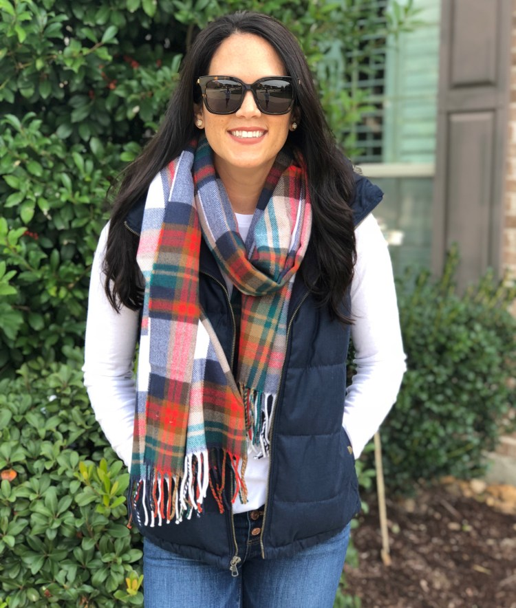 scarf:plaid
