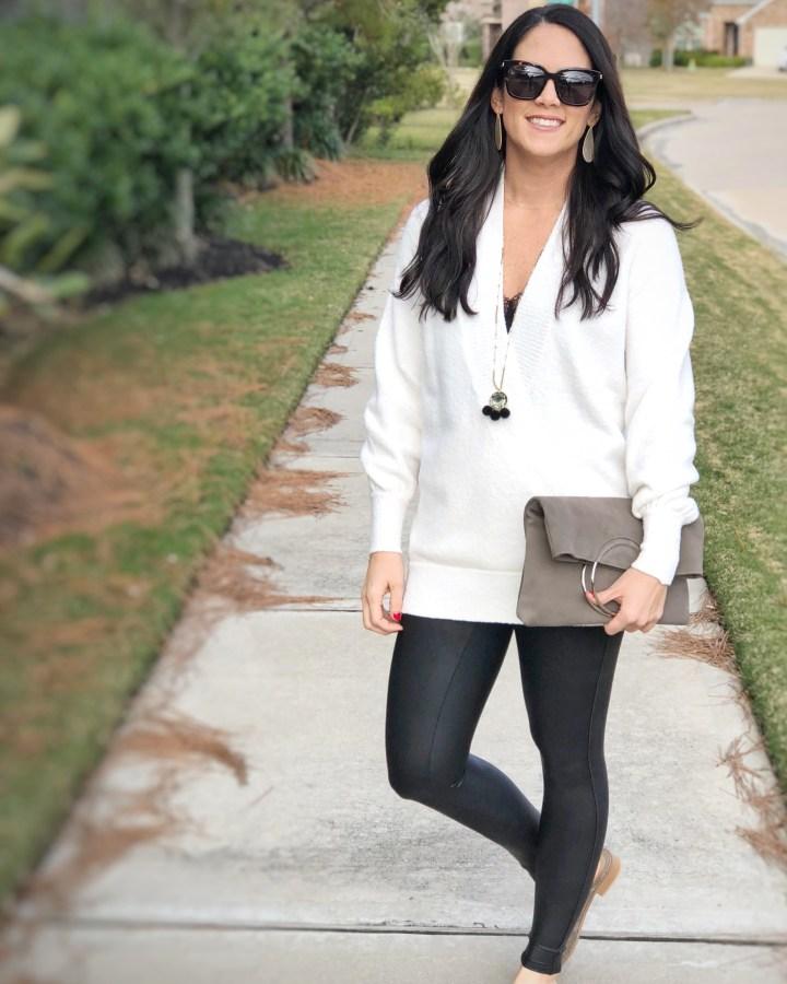 LOFT-whitesweater:spanx