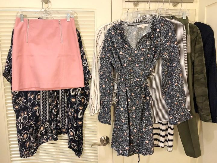 dressing room try-on session | LOFT