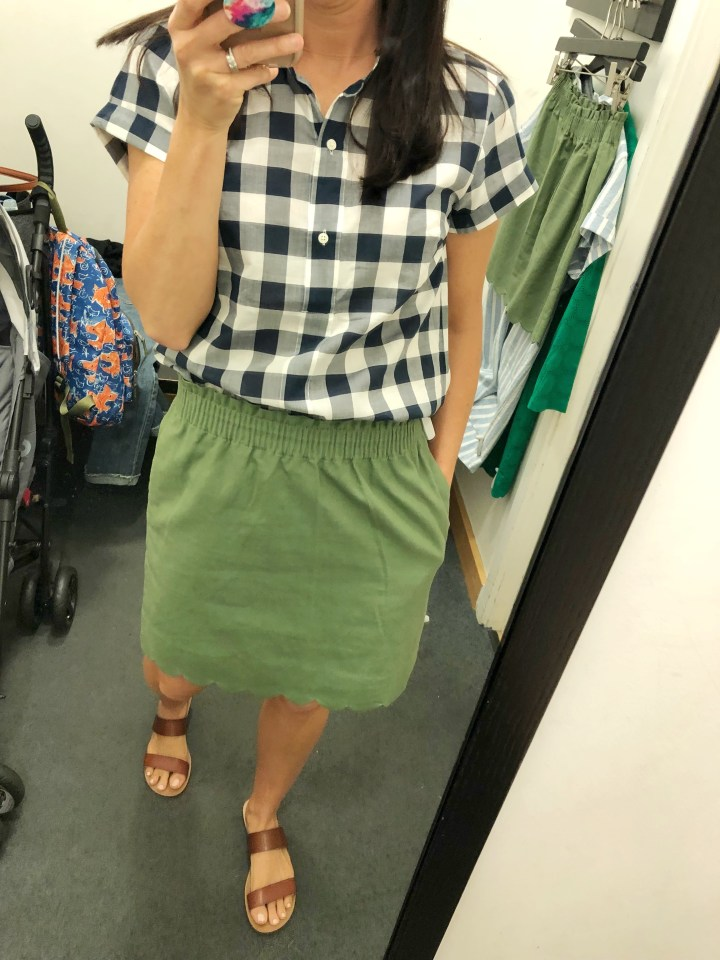J. Crew Factory Try On Session