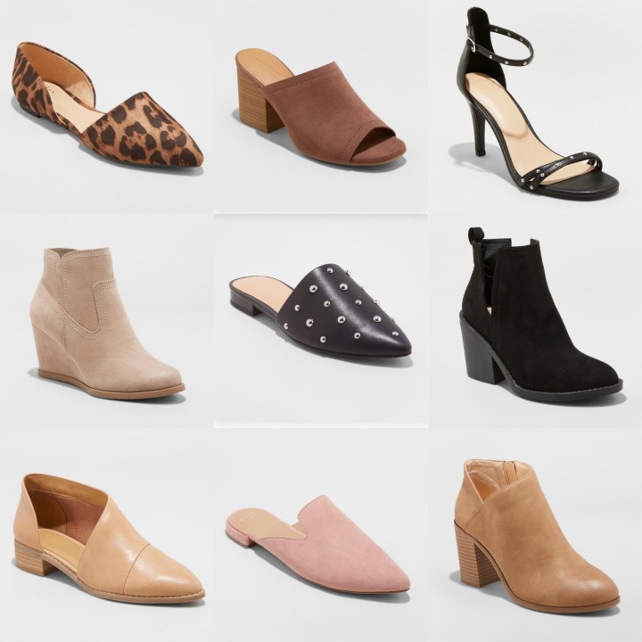 Target Fall Shoe Round Up