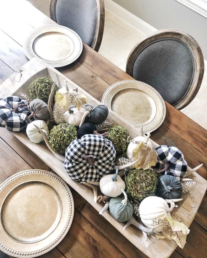 Fall Decor: Filling Your Dough Bowl