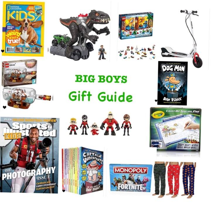 Gift Guide- My Boy's Picks
