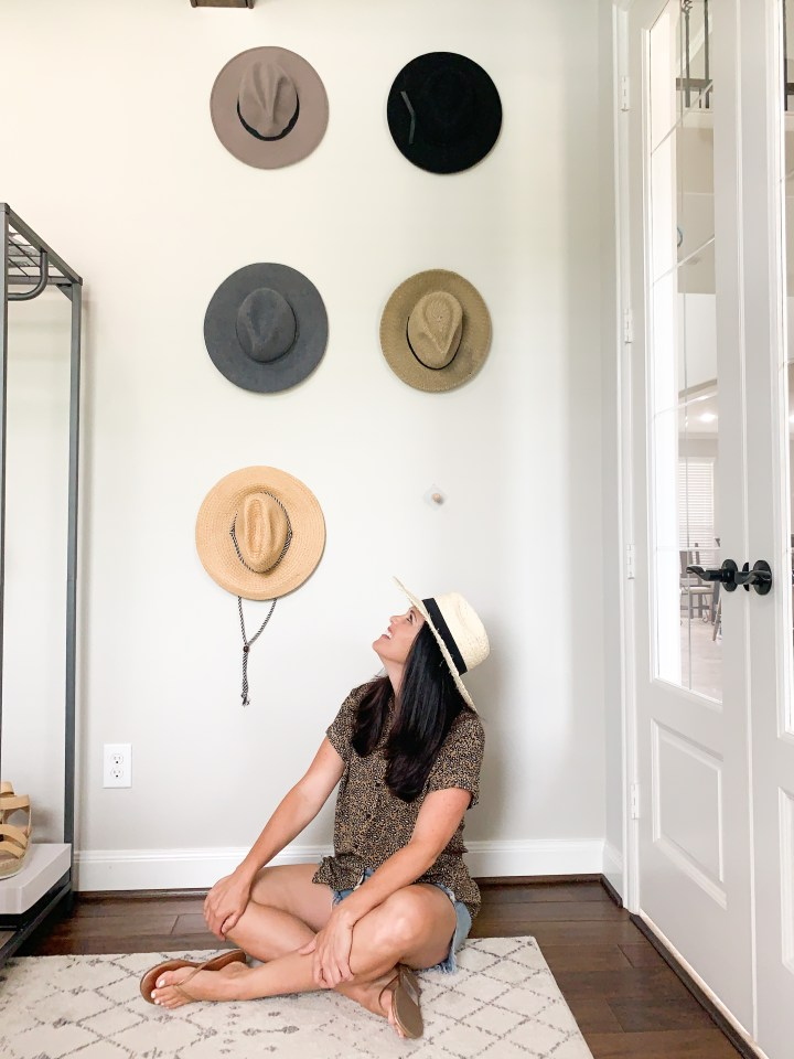 EASY DIY HAT WALL
