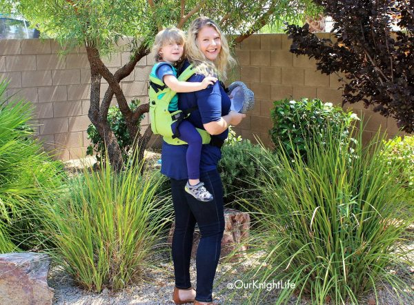 Our Knight Life - LILLEbaby Complete Organic Green Meadow