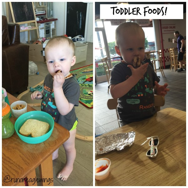 Running On Eagles Wings - Toddler foods
