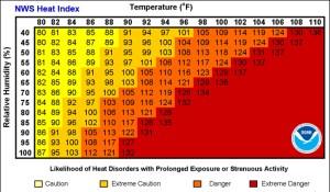 Summer Running   Heat Index   Hydration   Running Coaches' Corner   Running on Happy