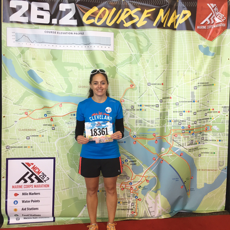 Marine Corps Marathon Review | Running on Happy
