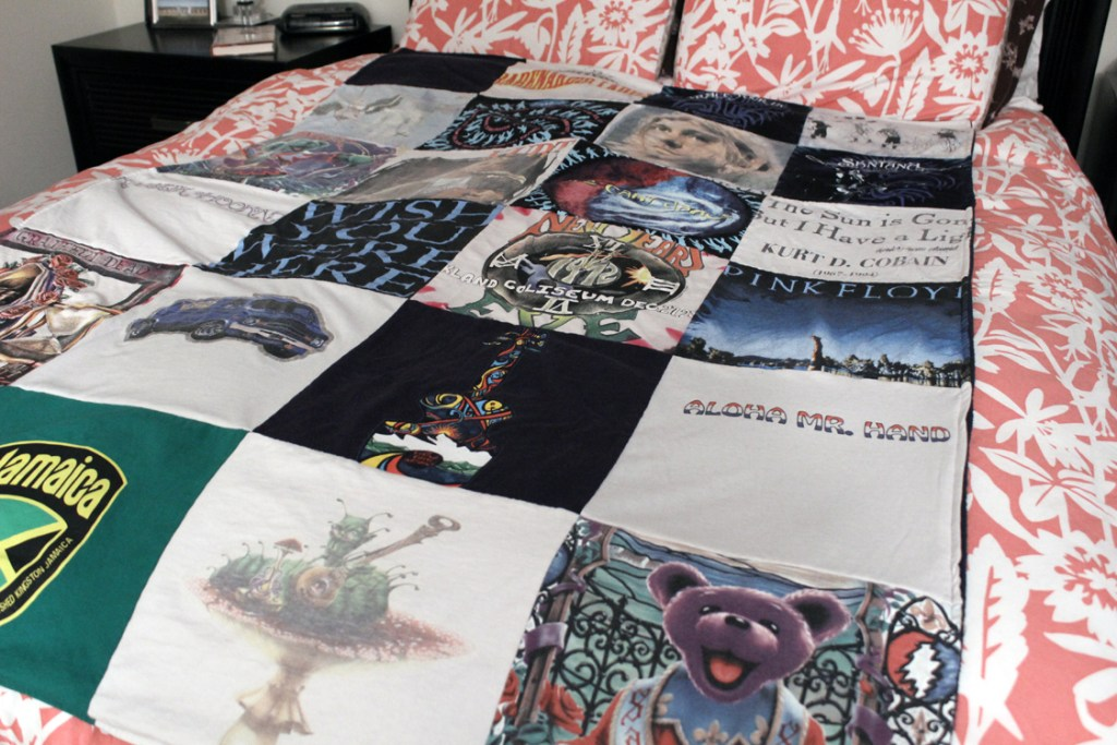 A t-shirt quilt from Project Repat is a wonderful investment!