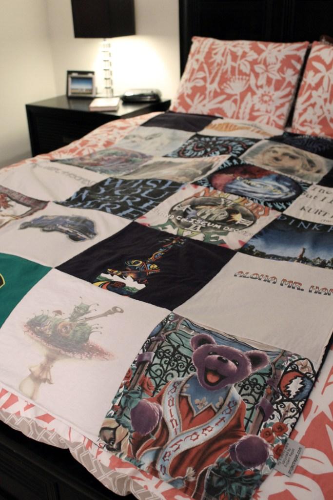 Project Repat T-Shirt Quilt Review