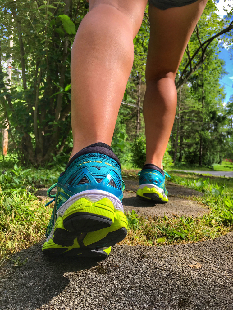 These Shoes Were Made for Running: Mizuno Wave Sky | Running on Happy
