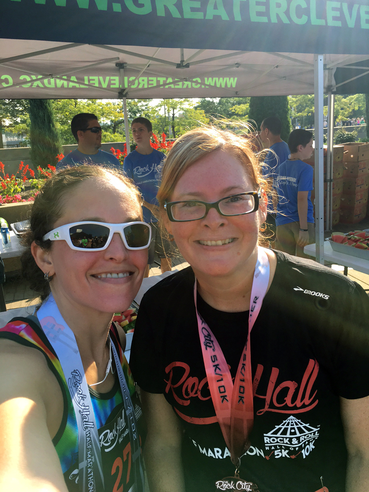 Rock Hall Half Marathon 2017 | Running on Happy