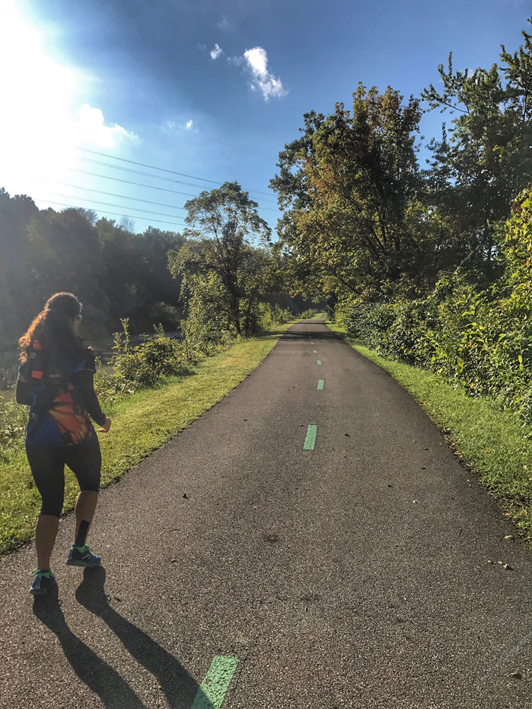 A Positive Mindset and a Great Week of Training {Marine Corps Marathon Training: Week 11} | Running on Happy