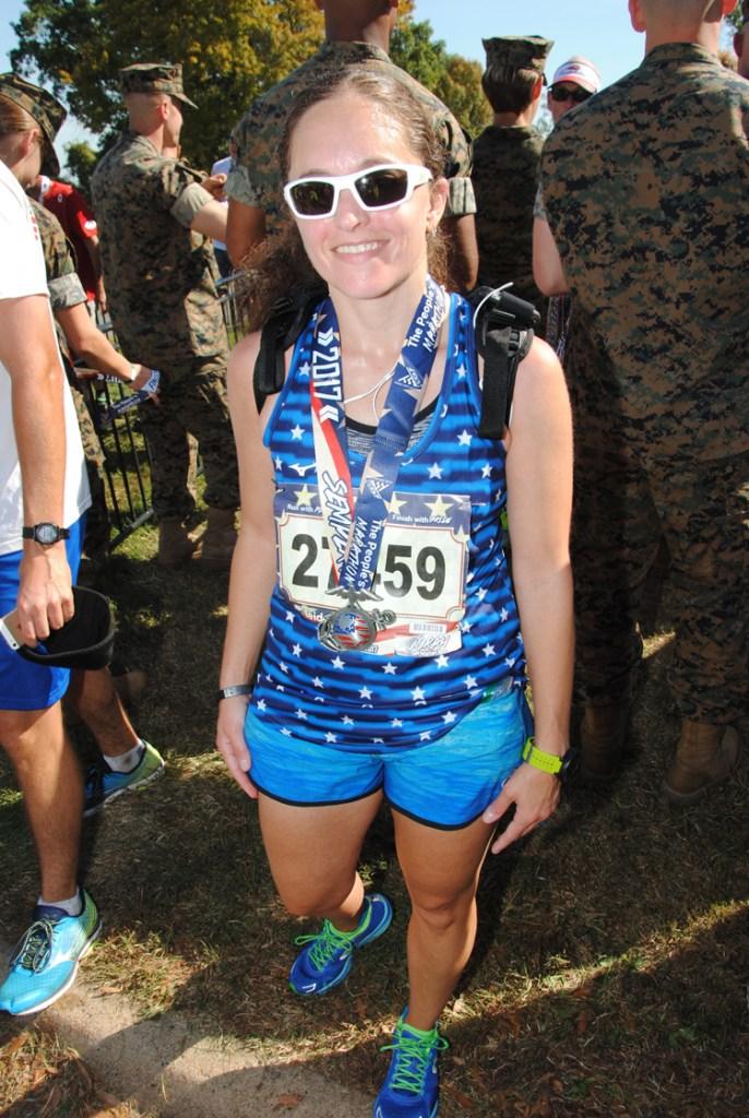 2017 Marine Corps Marathon Race Recap | Running on Happy