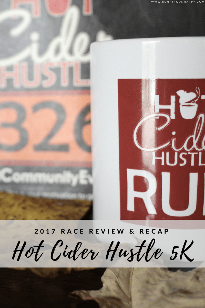 The Hot Cider Hustle 5K was a fun race in the suburbs of Cleveland, Ohio! Bitter cold temperatures made it a challenge but the race was great.