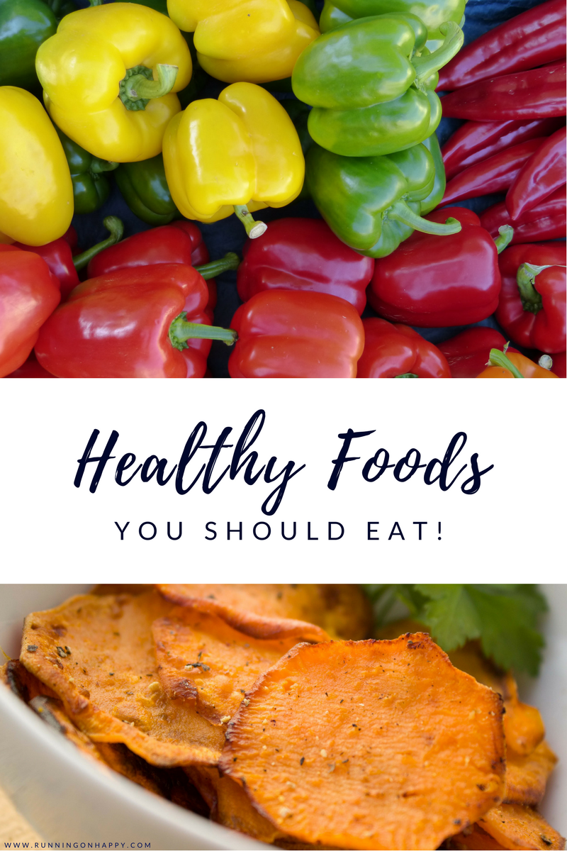 Healthy foods make for a healthy athlete. Find out which foods I wasn't eating seven years ago and why I'm eating them now!