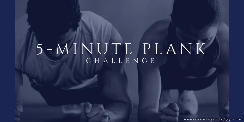 5-Minute Plank Challenge | Running on Happy
