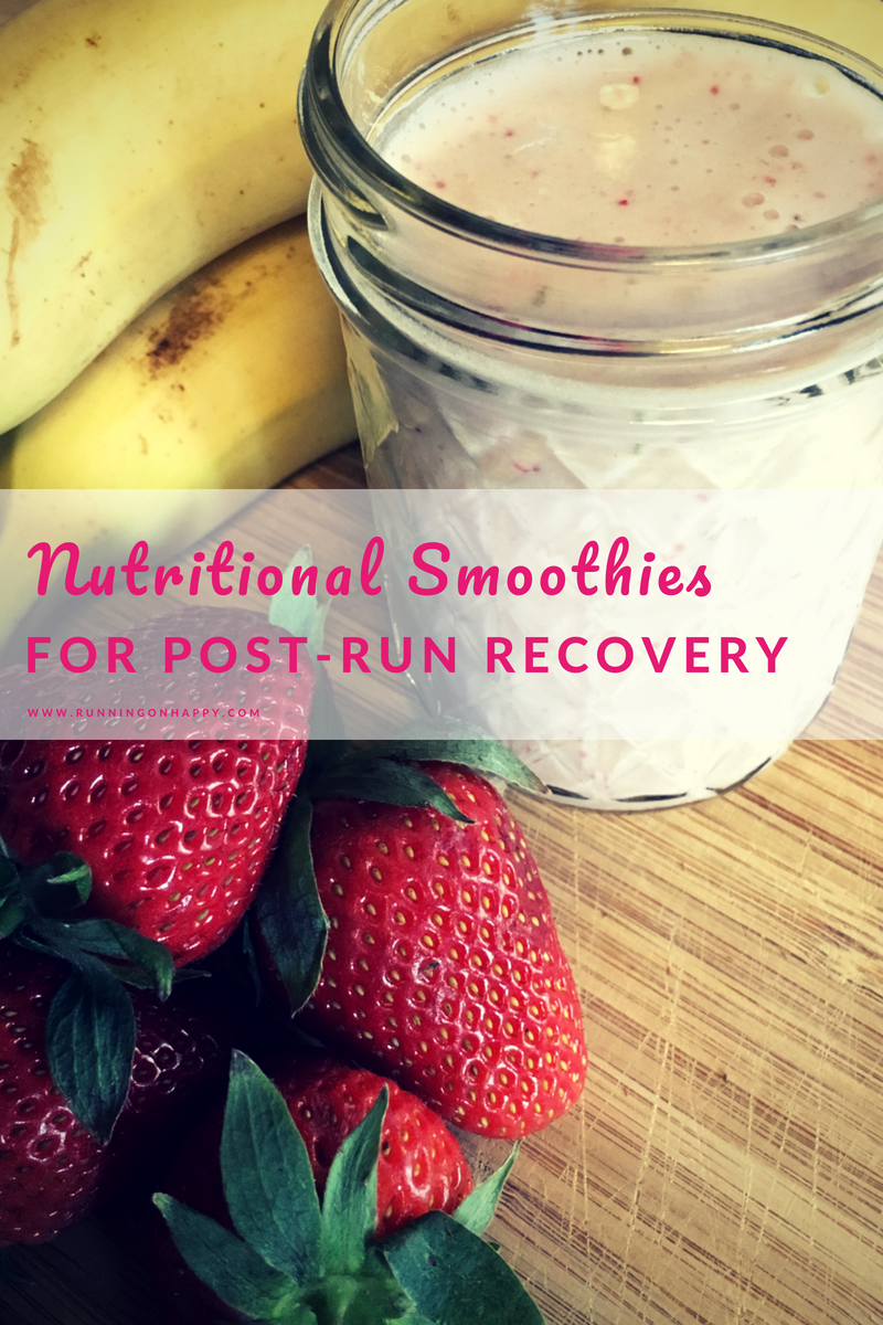 Nutritional smoothies are an easy and delicious way to get fast fuel after a hard workout.