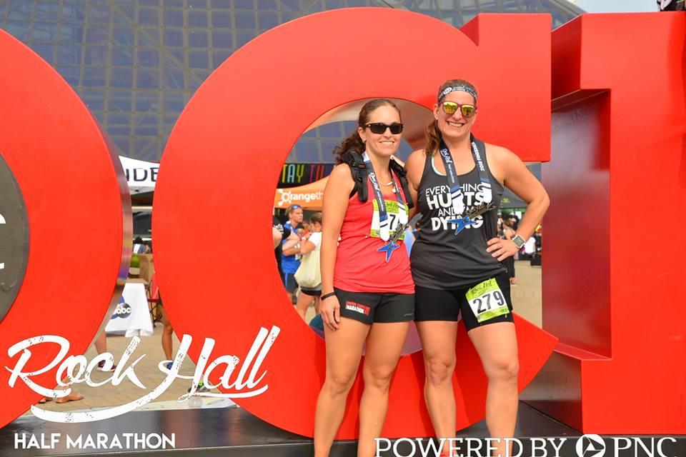 2018 Rock Hall Half Marathon Review and Recap | Running on Happy