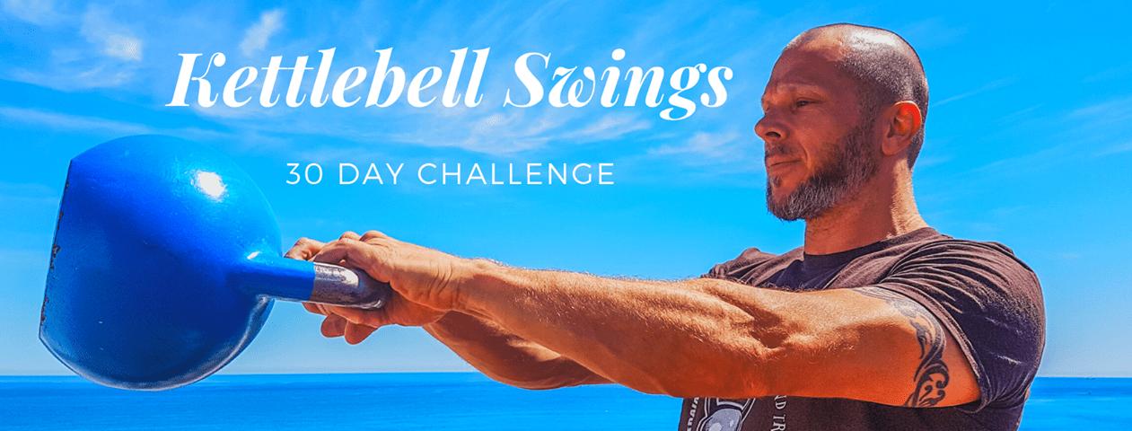 Kettlebell Swings 30-Day Challenge | Running on Happy