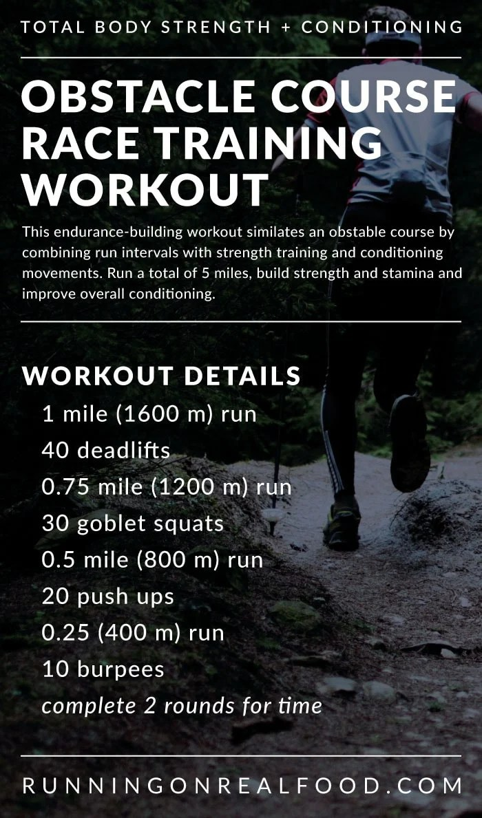 Tough Mudder Training Workout for Obstacle Courses