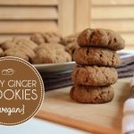 Vegan Spicy Ginger Cookies | Running on Real Food