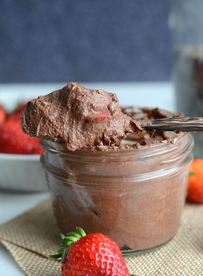 Vegan Chocolate Chia Protein Pudding - Healthy, Creamy and Delicious!