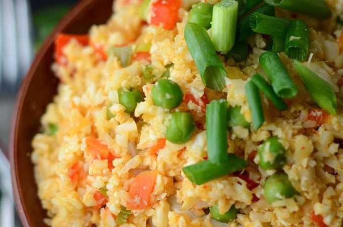 Thai Red Curry Cauliflower Rice