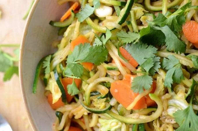 Low Carb Vegan Chow Mein