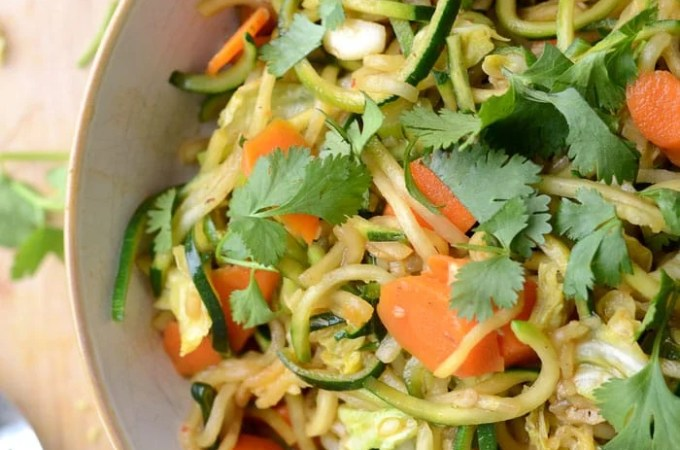 Low Carb Vegan Chow Mein