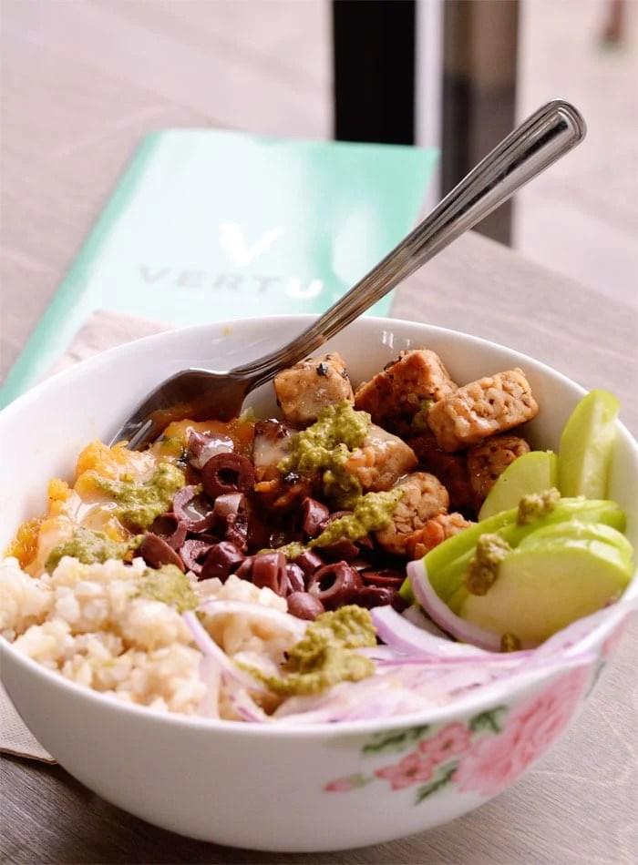 burrito bowl vertu health bar