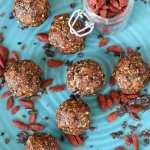 Benefits of Goji Berries + Raw Vanilla Goji Berry Balls Recipe