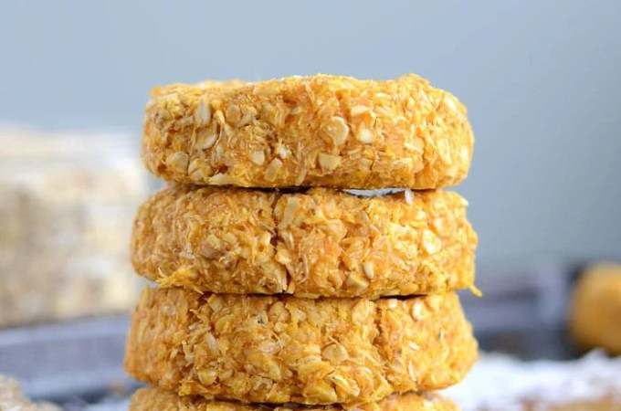 Sweet Potato Coconut Oat Cookies