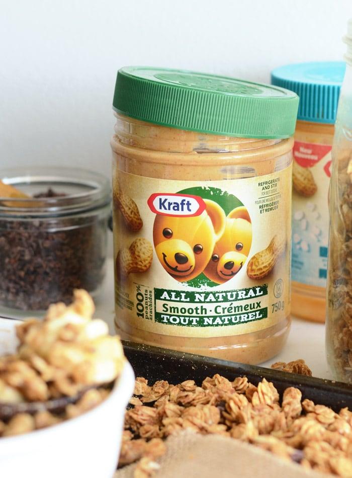 Super Simple Peanut Butter Granola