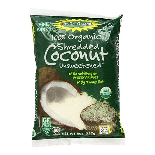 Do Organic Shredded Coconut
