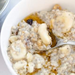 Whole Grain Porridge 5 Delicious Healthy Recipes   vegan and gluten-free