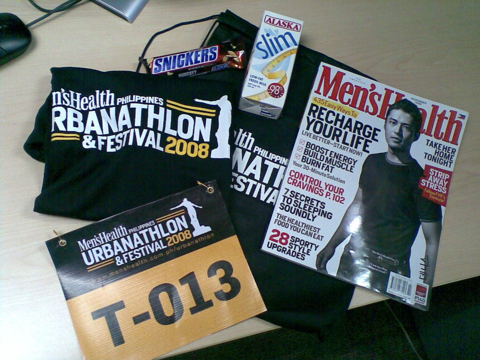 Urbanathlon Race Kit