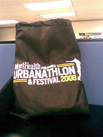 Urbanathlon loot bag