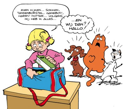 cartoon Jan, Jans en de kinderen