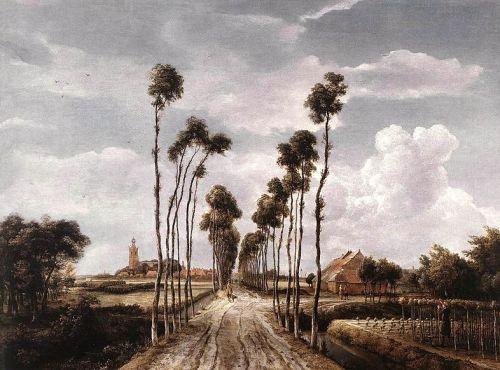 Laantje van Middelharnis Meindert Hobbema