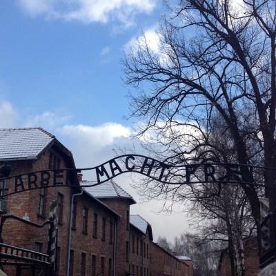 Auschwitz ingang
