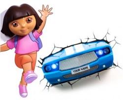 auto in muur albertus