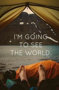 Going to see the world
