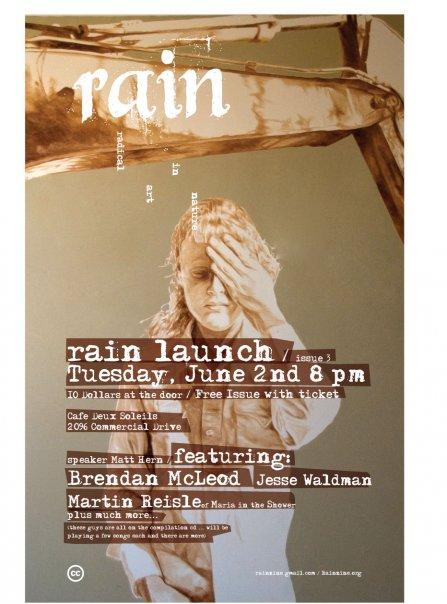 rain: radical art in nature