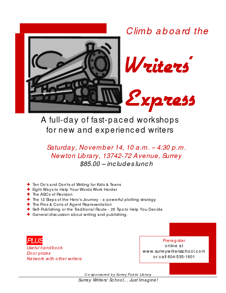 Surrey Writers School Writers' Express