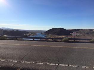 Laughlin across the dam