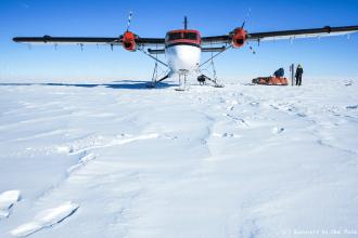 14 novembre - c'est parti ! Nous avons 76 jours devant nous pour atteindre notre objectif, et plus de 2.000 kms à parcourir en ski pour y parvenir.