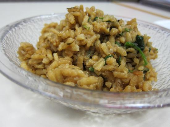 11.19 spinach risotto