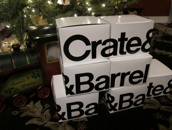 12.7 Crate and Barrel boxes